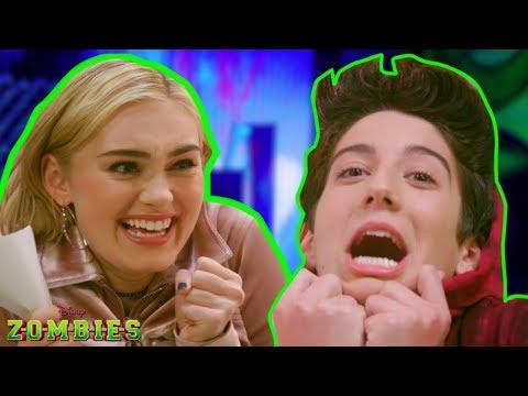 How Well Do You Know Your Co-Star?| Z-O-M-B-I-E-S Challenges | Disney Channel