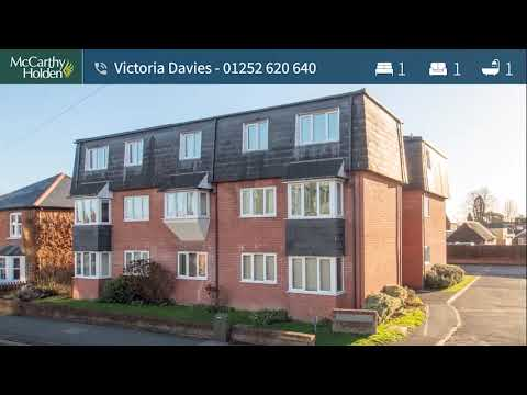 A One Bedroom First Floor Apartment For Sale in Fleet Town Centre