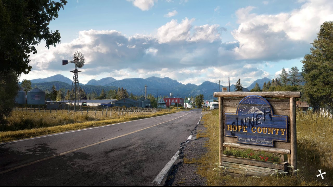 Far Cry 5 Father S Loading Screen Youtube