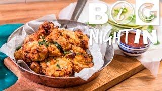 Fried Chicken & Pandan Pancakes Recipe | Big Night In