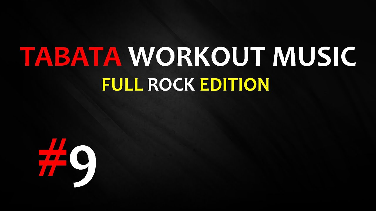 Tabata Workout Music (20/10) - You're Going Down (Sick Puppies) - TWM #9