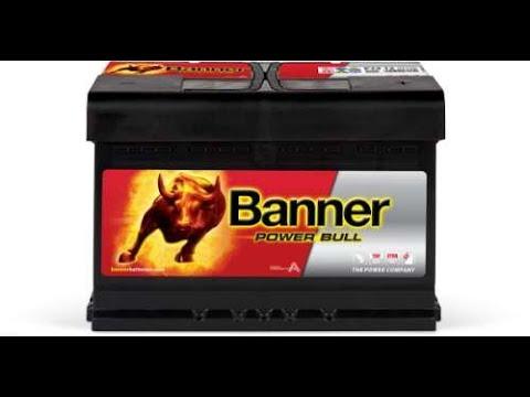 Akumulator #Banner PowerBull 74ah 680A - Test I Badanie Akumulatora Rozruchowego Z Austrii