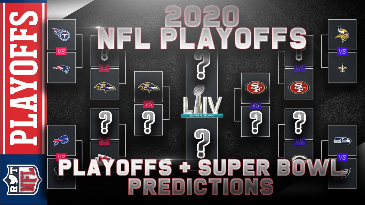 2020 Nfl Playoff Predictions Full Bracket Breakdown Super Bowl Liv Winner Youtube