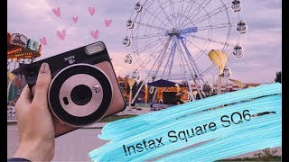 ОБЗОР ФОТОАППАРАТА INSTAX SQUARE SQ6