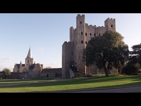Castles: Rochester Castle ~ Video Tour.