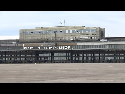 remains of the former airport berlin tempelhof youtube. Black Bedroom Furniture Sets. Home Design Ideas