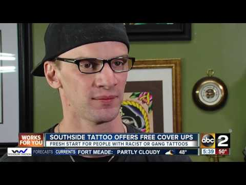 e8a256d68 Local tattoo shop offers free removal of racist, gang-related tattoos -  YouTube