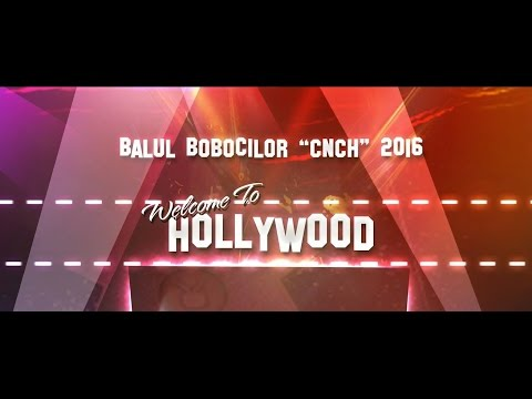 """BALUL BOBOCILOR CNCH """"WELCOME TO HOLLYWOOD"""" 2016 - TECUCI #1"""