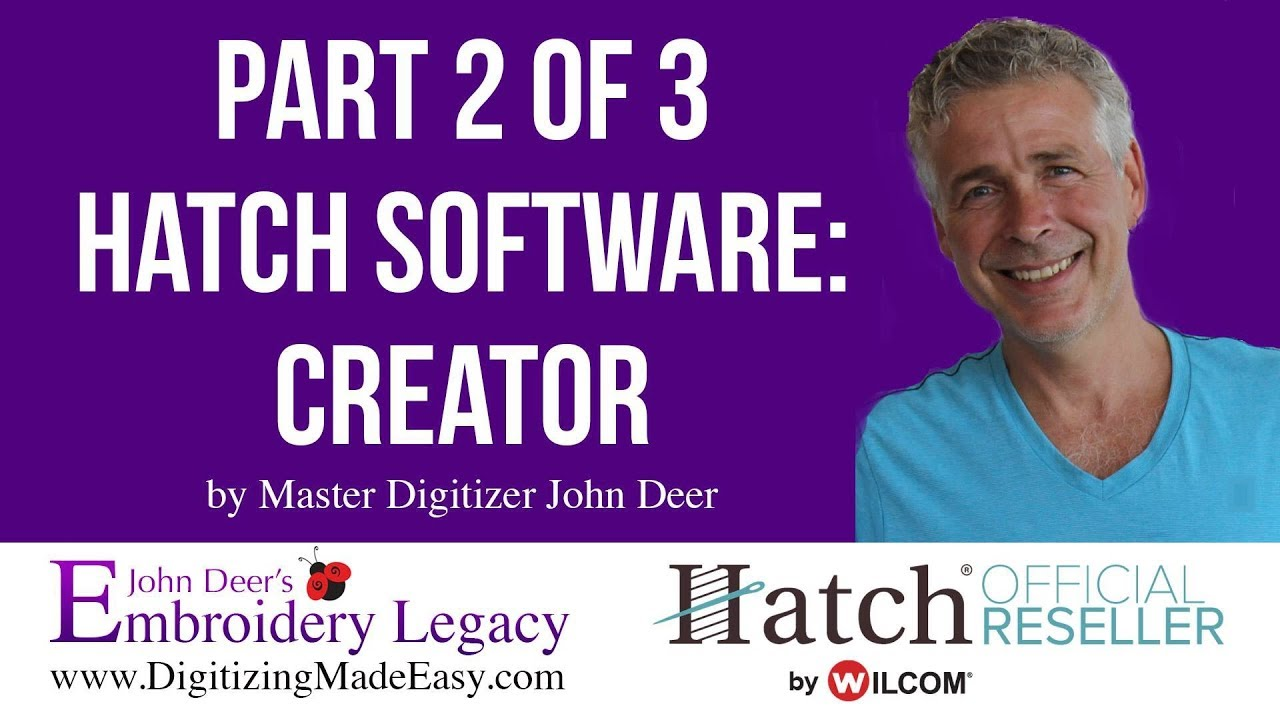 Hatch Creator Embroidery Software Tutorial: Beginner's Guide 2