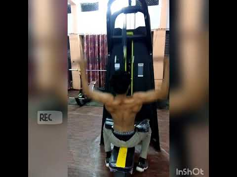 7185e8827c Back workout  Aryan gym