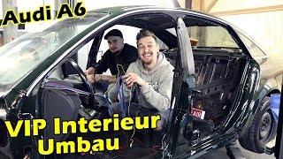 AUDI A6 - Luxus Interieur Umbau & Schwarz Färben