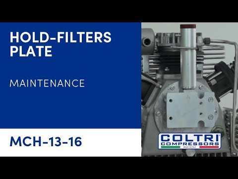 DISASSEMBLY HOLD-FILTERS PLATE