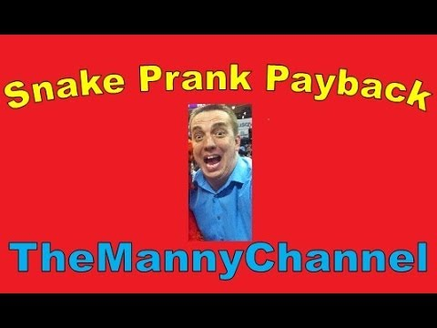 Snake Prank Payback