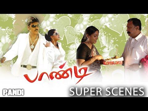Pandi - Super Scenes   Raghava Lawrence   Sneha   Srikanth Deva   Rasu Madhuravan