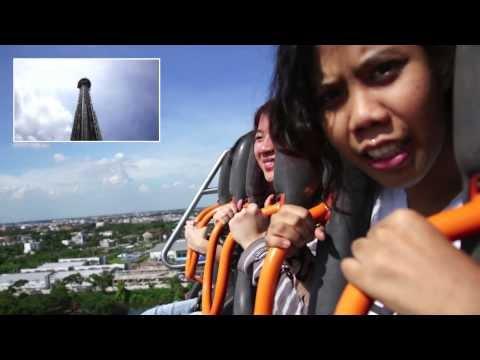 [On-Ride] Giant Drop @ Siam Park City (ยักษ์ตกตึก สวนสยาม)
