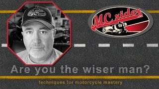 How I crashed my motorcycle & lessons from it. - Episode - 23 MCrider