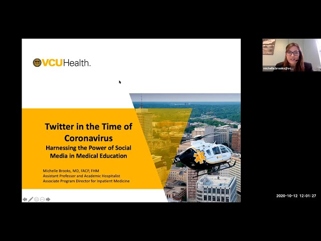 Twitter in the Time of Coronavirus — Harnessing the Power of Social Media in Medical Education