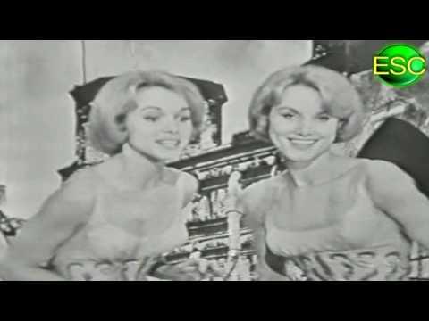 ESC 1959 06 - Germany - Alice & Ellen Kessler - Heute Abend Wollen Wir Tanzen Geh'n