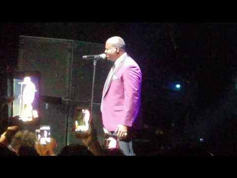 Superstar Luther Vandross Tribute  Johnny Gill Concert Performance