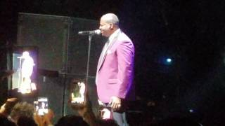 Superstar (Luther Vandross Tribute) - Johnny Gill (Concert Performance)