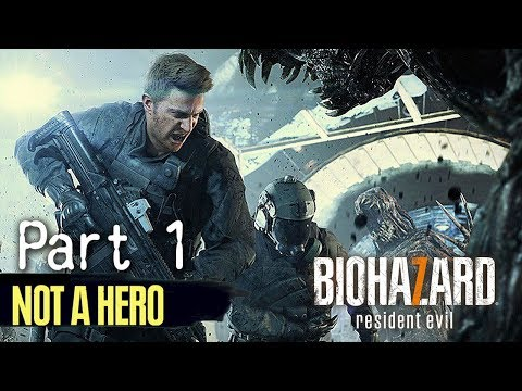 Biohazard 7 Not A Hero DLC Part 1   ( 7 )