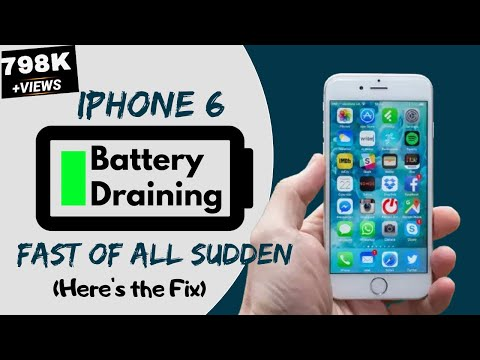 Iphone 6 Battery Draining Fast All Of A Sudden Here S The Fix Youtube