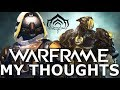 """WARFRAME My Thoughts & DESTINY Comparison """"REAL TALK!"""" (Some What!)"""