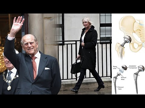 Prince Philip health lates: Hip surgeon Sarah flashed a smile as she left the hospital