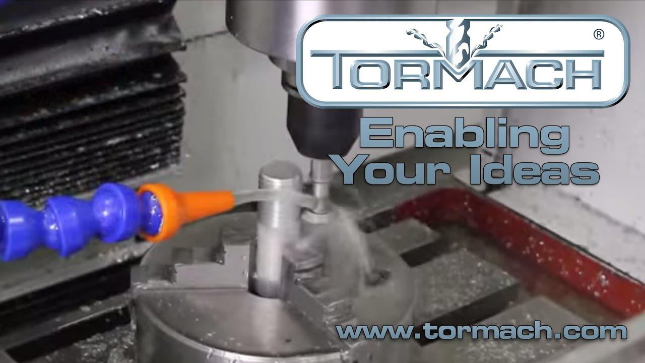 External Thread Milling Demonstration - Tormach CNC