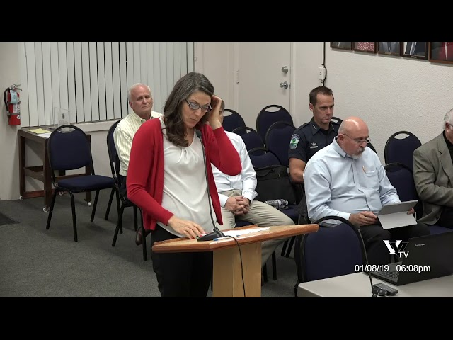 Cottonwood City Council Work Session January 8 2019