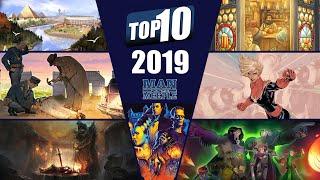 Top 10 Board Games of 2019 by Man vs Meeple