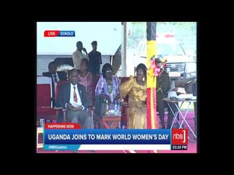 Swedish Ambasodor to Uganda Joins Uganda to Celebrate Women's Day in Dokolo