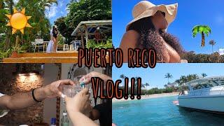PUERTO RICO VLOG | FIRST TRAVEL VLOG, OTGz TRIP!!