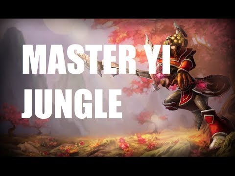 League of Legends - Master Yi Jungle - Full Game Commentary