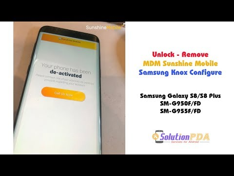 Free remove mdm samsung s8+ – frp done