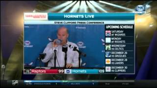 Coach Clifford Post game interview - Jeremy Lin