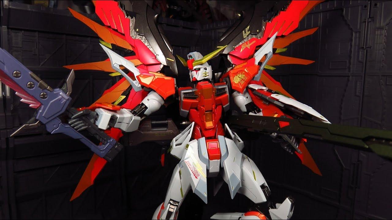 Metal Build Destiny Gundam (Heine Custom) Review - YouTube