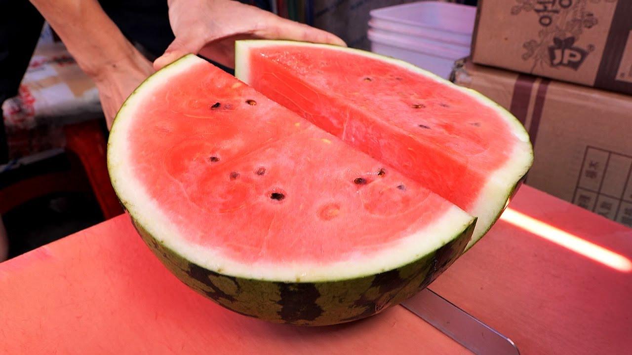 Satisfying Cutting! Fruit Cutting Master / 남대문 과일 자르기 달인 / Korean Street Food