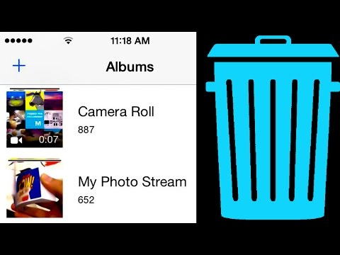 How do you delete photos off iphone 6