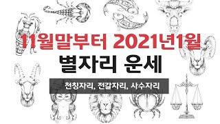 2020년 12월~2021년 1월 상세 운세 - 천칭자리,전갈자리,사수자리