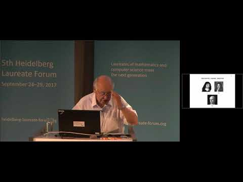 5th HLF – Lecture: Sir Michael Atiyah