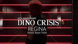 Dino Crisis Fan Made Proyect 2019 Regina Reveal Teaser Trailer