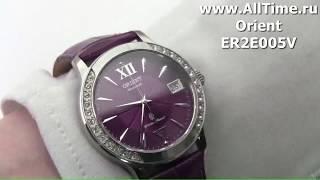 Обзор. Женские механические наручные часы Orient ER2E005V