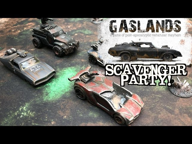 Gaslands Battle Report - Time Extended Issue Three!