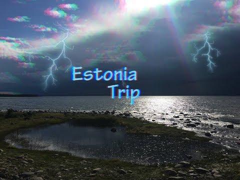 Estonia Trip Summer 2017 August | Viljandi, Tartu, Lake Peipus, Rakvere Castle, Jõelähtme Waterfall