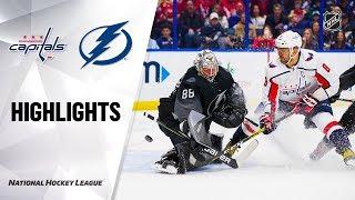 NHL Highlights | Capitals @ Lightning 12/14/19