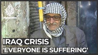Iraq economic crisis: 'Everyone is suffering'