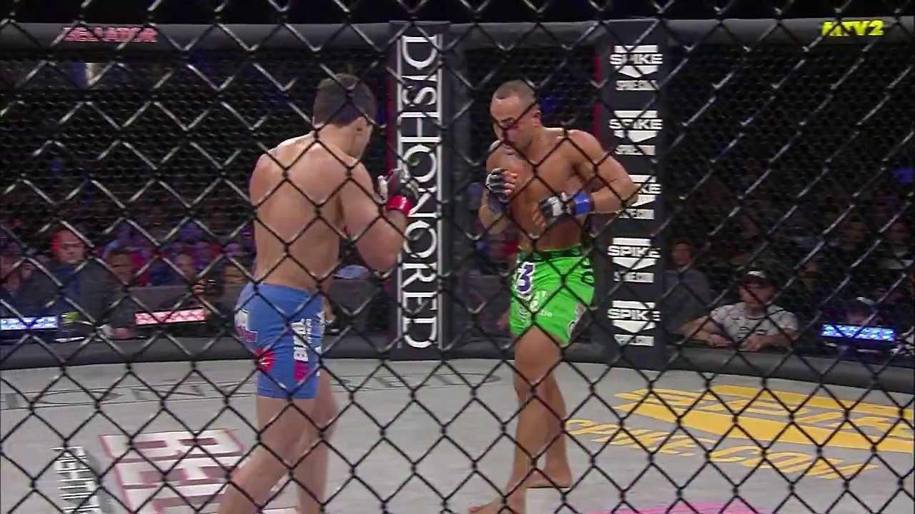 Bellator MMA Highlights: Eddie Alvarez Knocks Out Patricky Pitbull