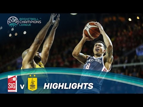 SIG Strasbourg v Aris - Highlights - Basketball Champions League