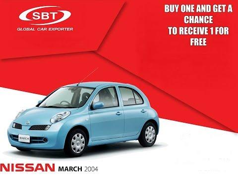 Nissan March-ის გათამაშება კომპანია SBT Co. LTD-სგან